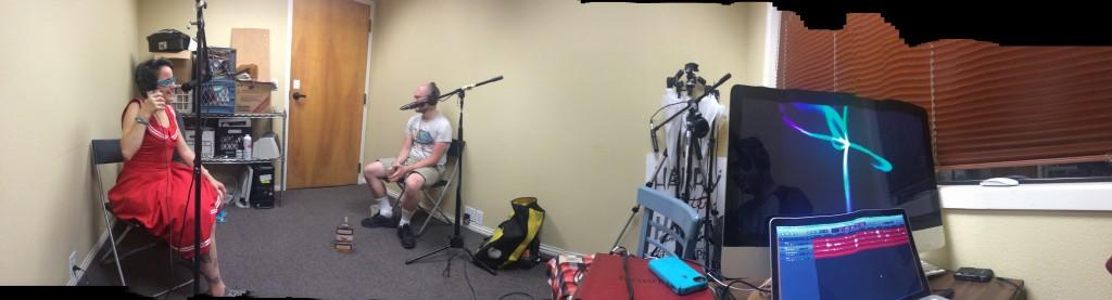 Recording panorama
