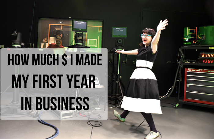 """How Much Money I made my first year in business"""