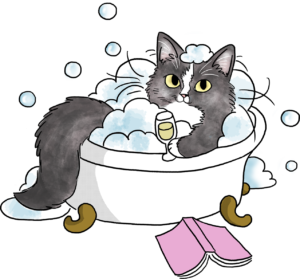 Cat in a Bathtub